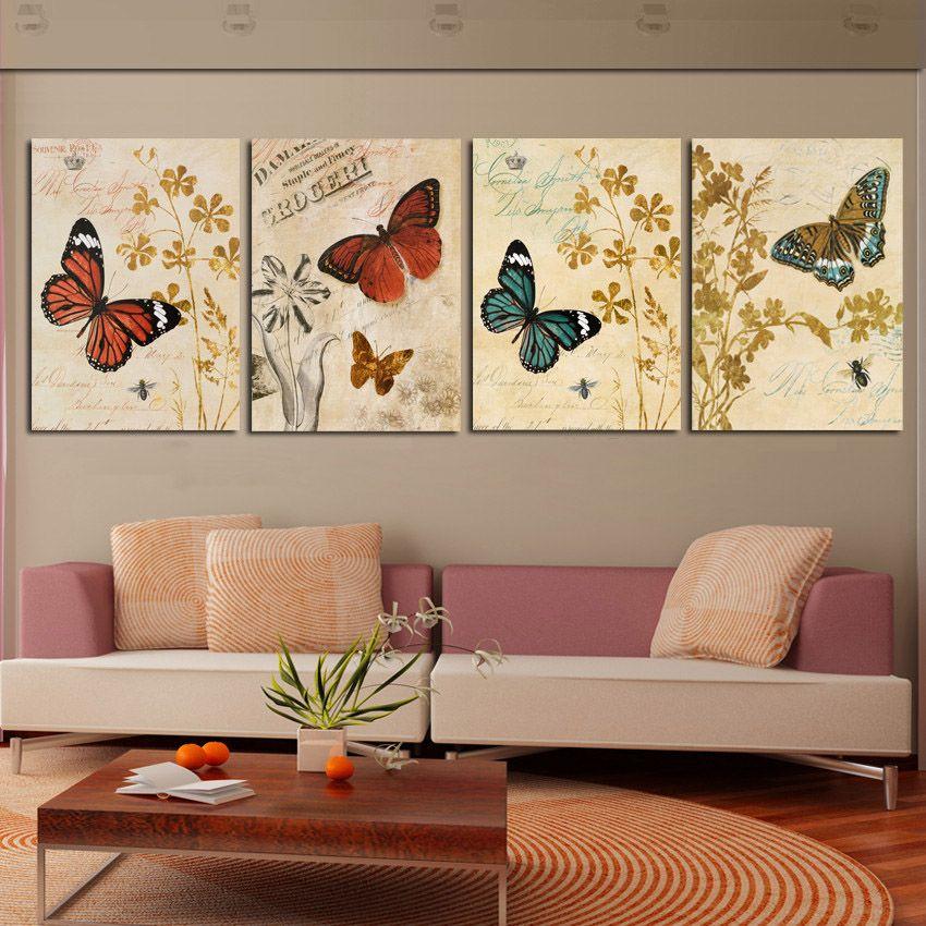 Cuadros de mariposas y libelulas buscar con google - Cuadros modernos ...