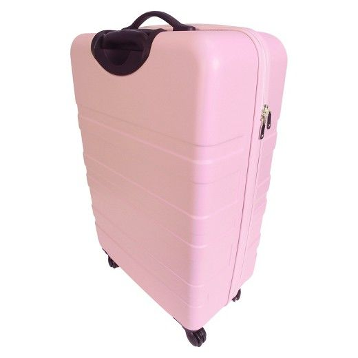 Luggage Rack Target Entrancing Designlovefest 28 Hardside Spinner Luggage Blush Peach  Hardside Design Decoration