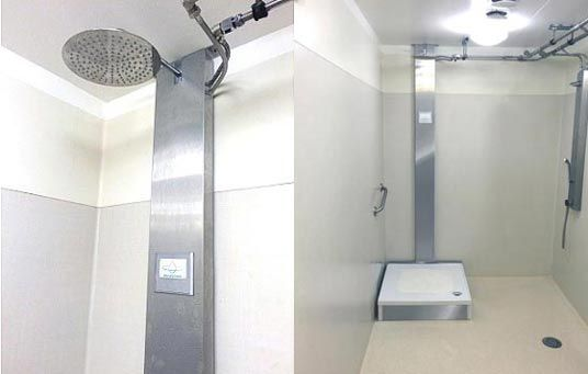 Orbsys Closed Loop Shower Uses 90 Less Water And 80 Less Energy Shower Systems Bathroom Design Shower