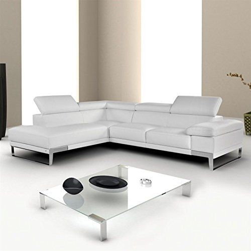 Nicoletti Domus Leather Left Sectional