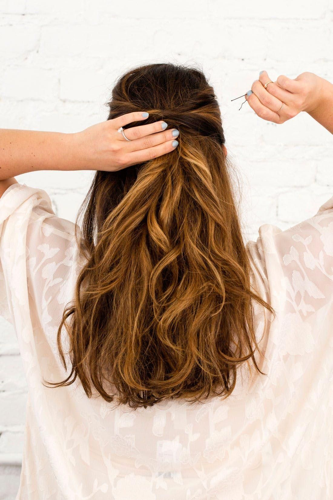 Half Up Half Down Hairstyles You Can DIY All Wedding Season Long