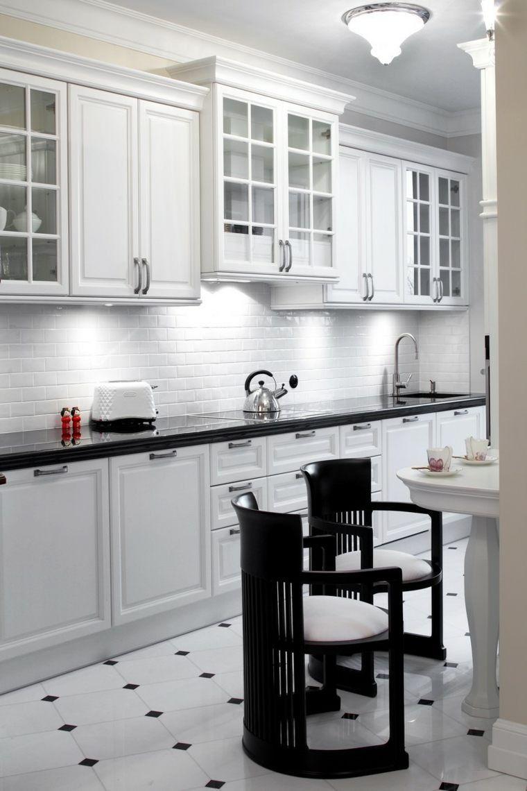 Carrelage Mural Noir Et Blanc Cuisine faience pour cuisine blanche 10 carrelage mural metro blanc