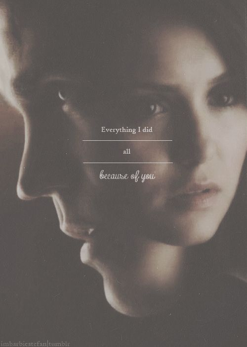 Stefan and Elena-this is why she should be with Stefan!!
