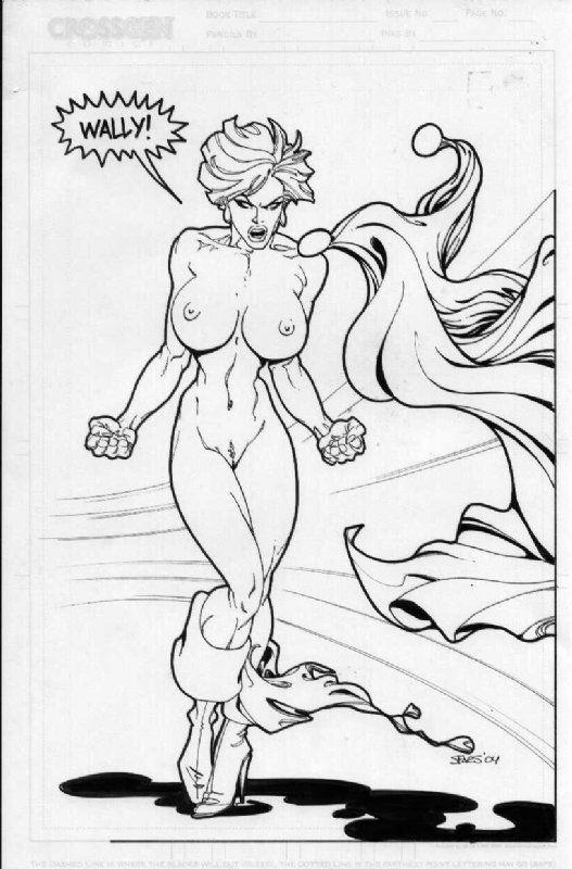 Porn dc comic power girl nude pics slutty