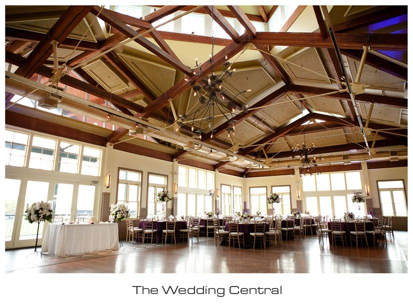 Liberty House Ballroom All Ready For Erika And Anthonyu0027s Wedding. ~  Www.theweddingcentral.