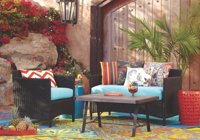 Wicker World Market Outdoor Furniture Makeover Wicker Patio Furniture Outdoor Entertaining Decor