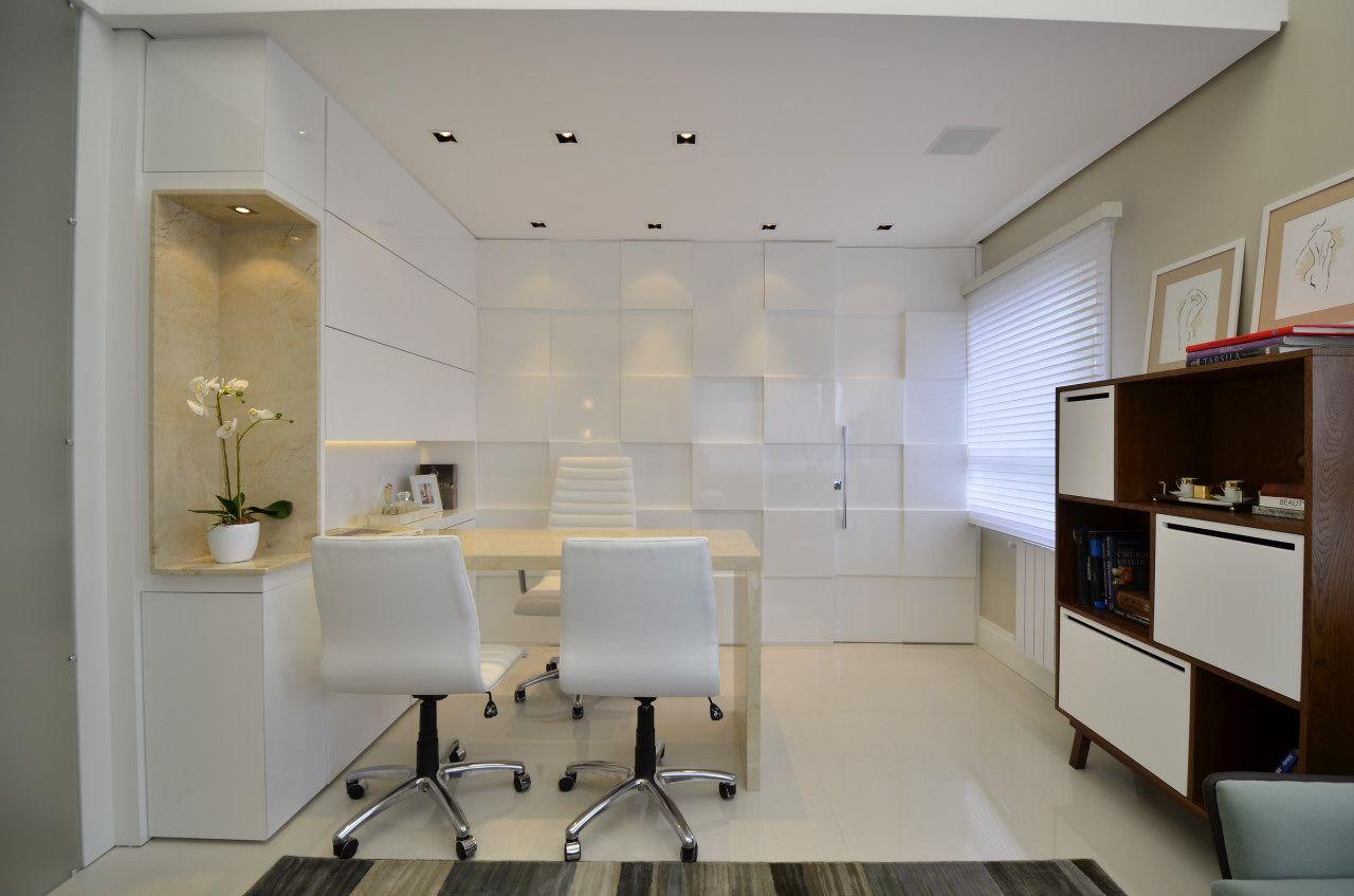 Leticia Sa Arquitetos Clinica Cirurgia Plastica Consultorio Branco  # Muebles Dentales Selecto
