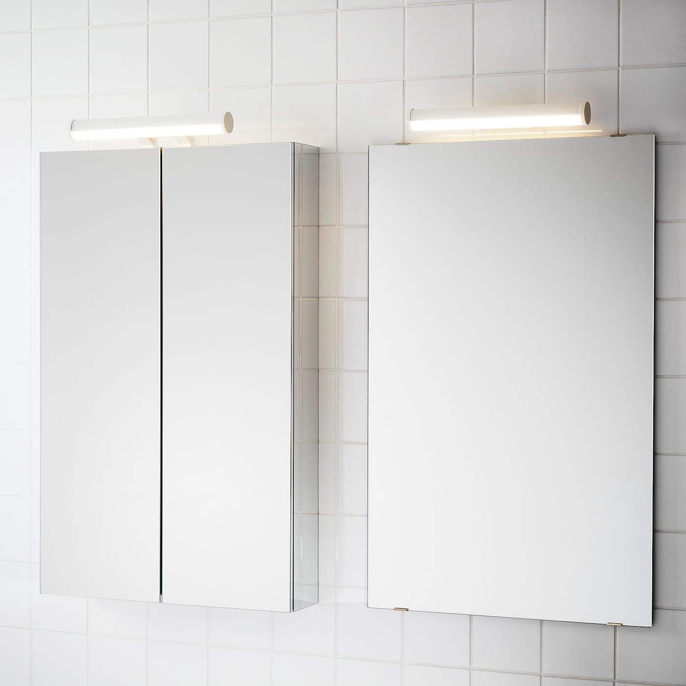 Spiegelschrank Ikea ÖstanÅ Led Cabinet/wall Light, White, 14\