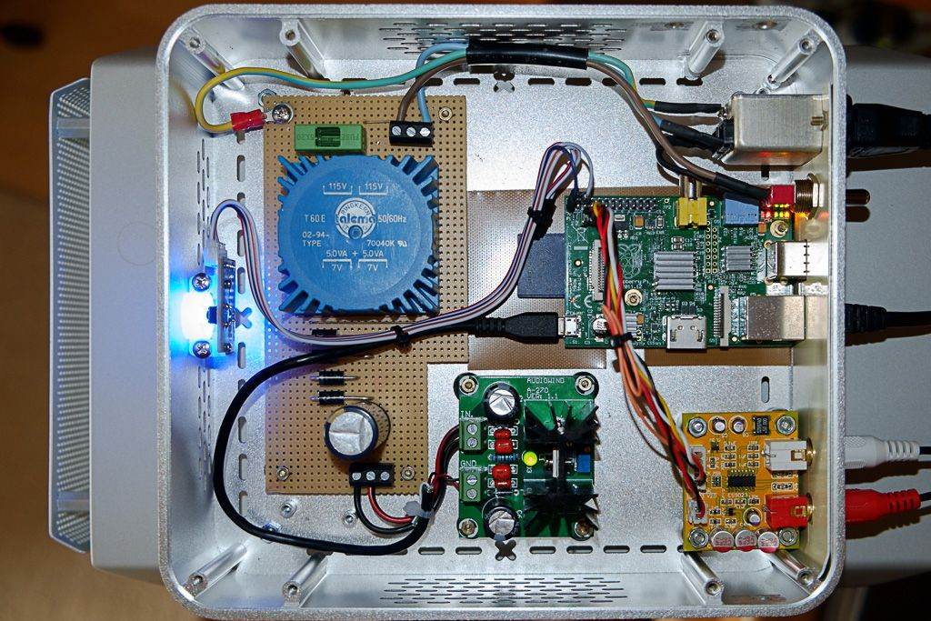 Amazing DIY Raspberry Pi audio player with | Audio Player Design
