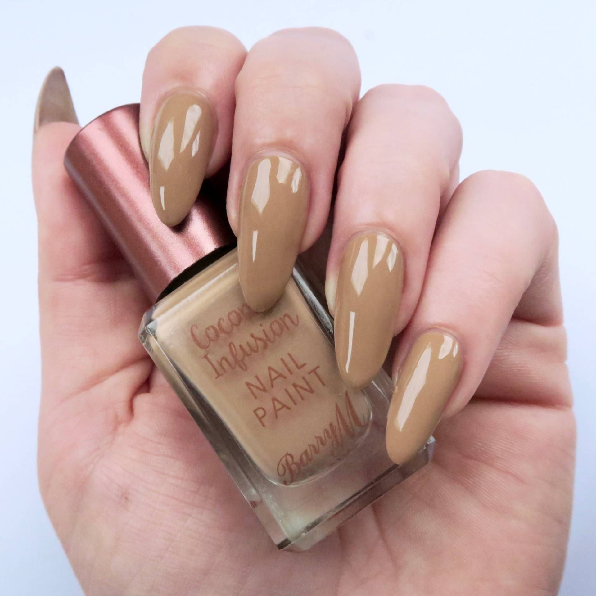 Barry M Coconut Infusion Review | Tiki hut, Natural nails and Swatch