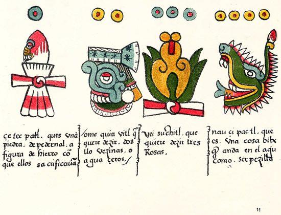 Grupo y Códice Magliabechiano | Aztecas, Símbolos aztecas, Codices  prehispanicos