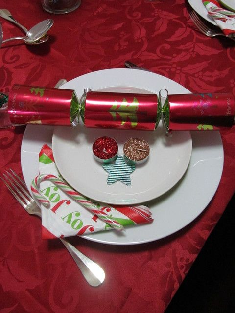 Christmas place setting christmas table Christmas place setting ideas