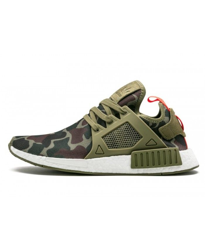 Adidas NMD XR1 Duck Camo Olive Cargo Olive Cargo Core Black