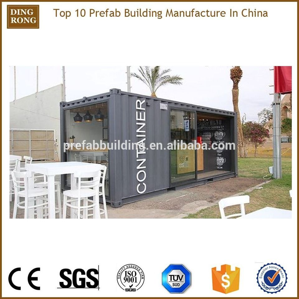 Prefab Luxury Pop Up Shipping Container Coffee Shop Booth Prefab Buildings Prefab Shipping Container House