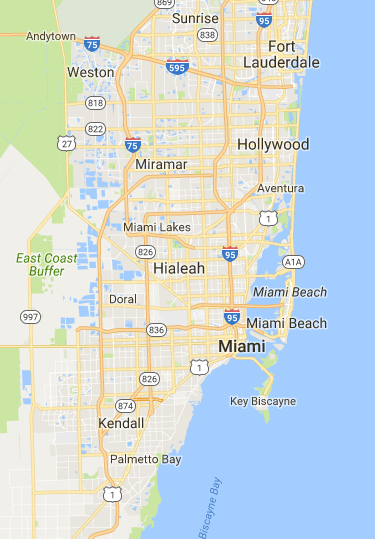 Google Maps | MIAMI | Map, View map, Driving directions