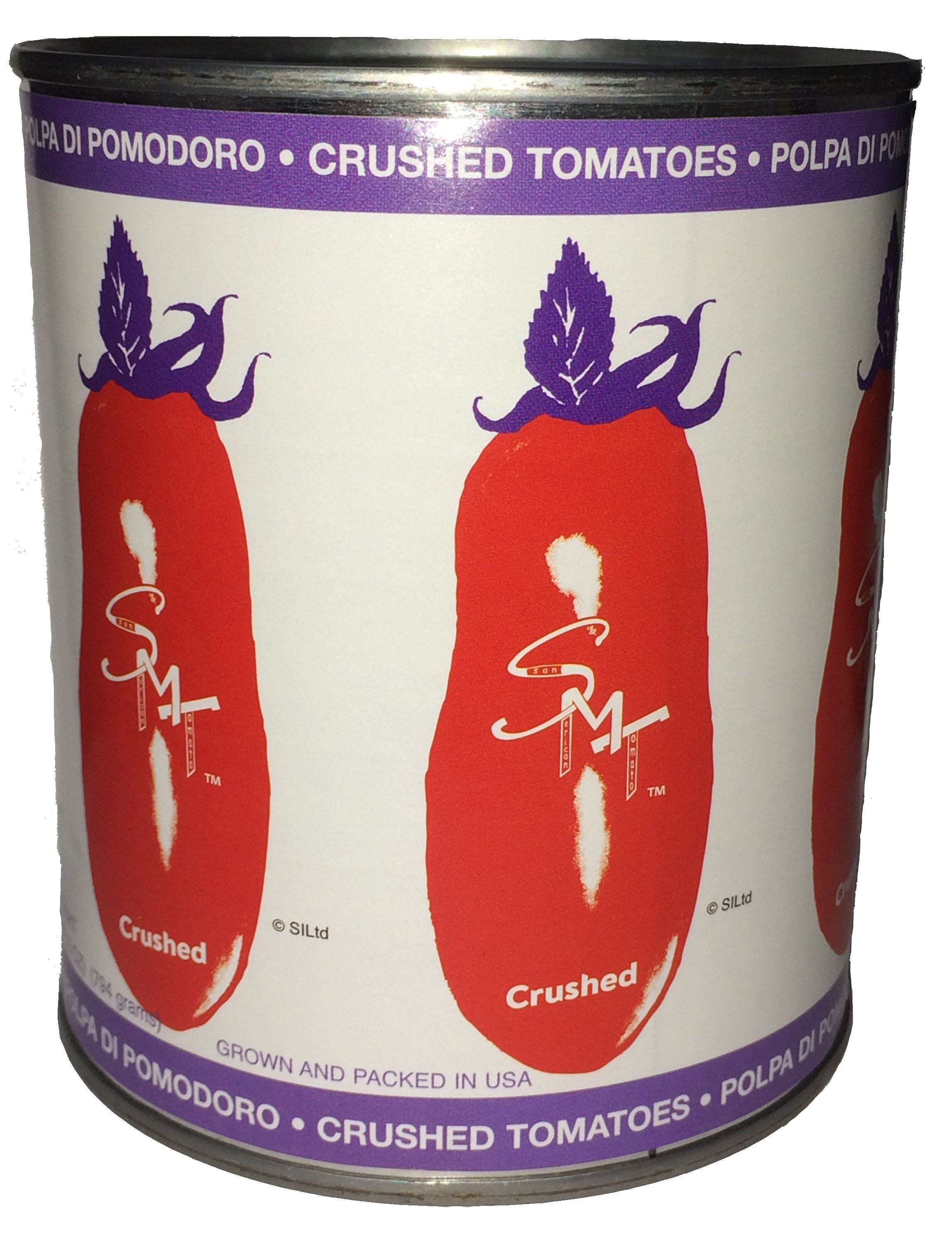 Smt San Marzano Style Crushed Tomatoes 28 Oz Pack Of 6 Crushed Tomatoes Tomato Marzano