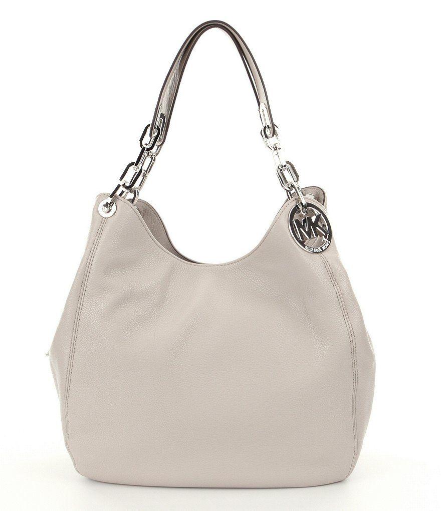 0f4ed4e512 Cement MICHAEL Michael Kors Fulton Large Hobo Bag