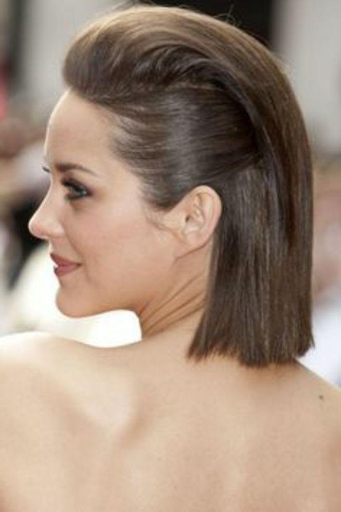 peinados sencillos pelo corto liso recogido por los - Peinados Sencillos