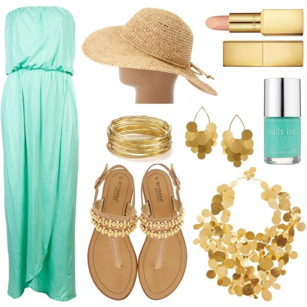 Going for Gold by timeandcouture on Polyvore