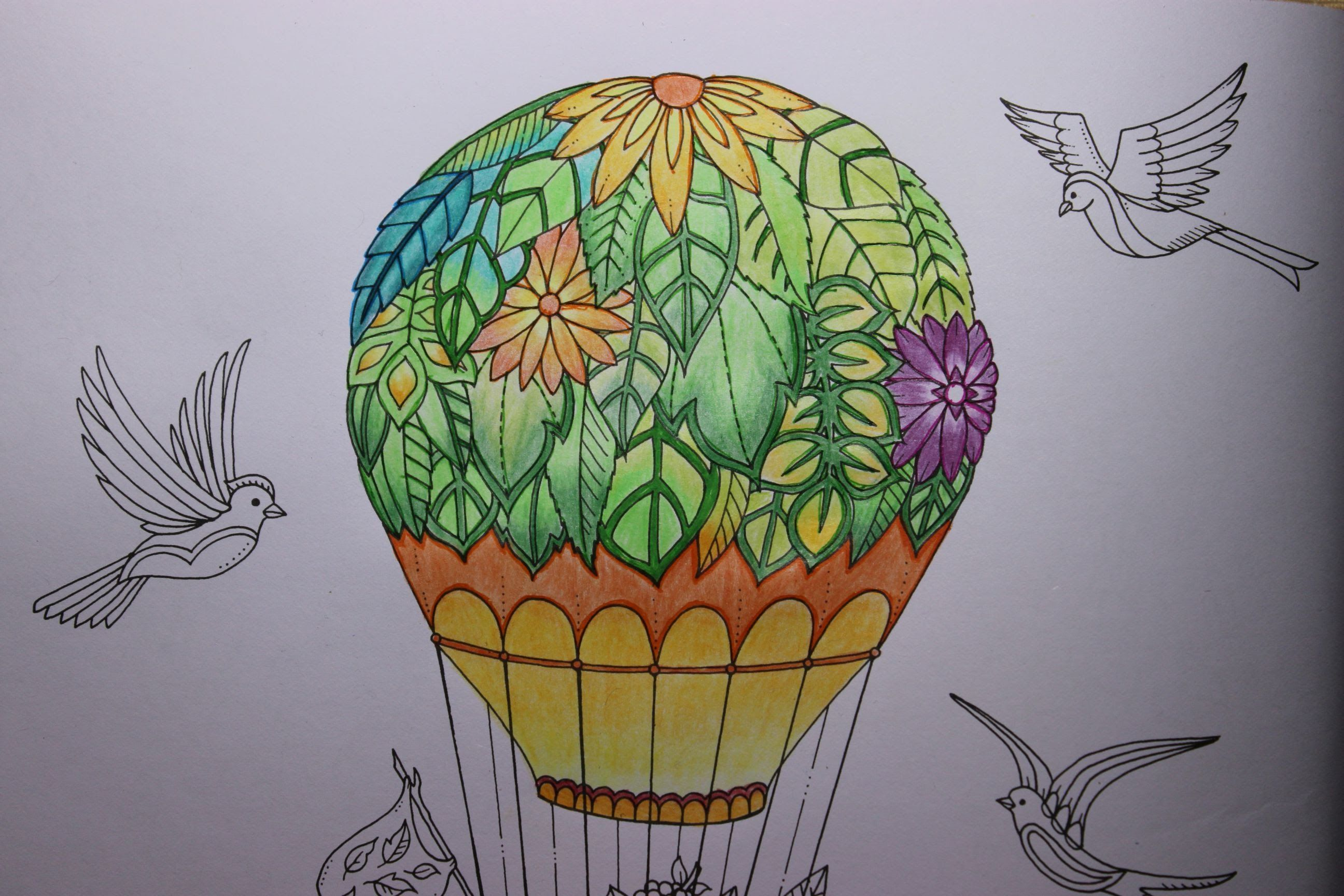 Enchanted Forest Coloring Book Air Balloon Part 1 Forest Coloring Book Enchanted Forest Coloring Book Enchanted Forest Coloring