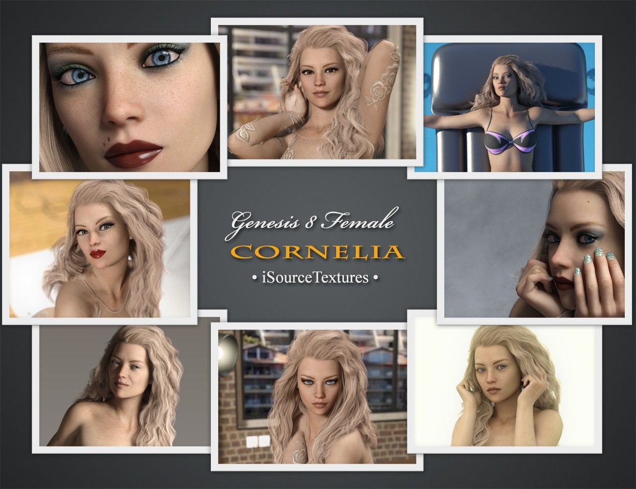 Cornelia For Genesis 8 Female | 3D Models and 3D Software by Daz 3D