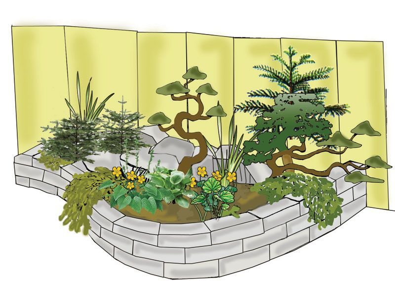 Záhradka na kameňoch   Kvety a Záhrada