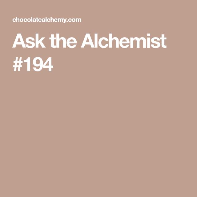 Little Alchemy Schokolade
