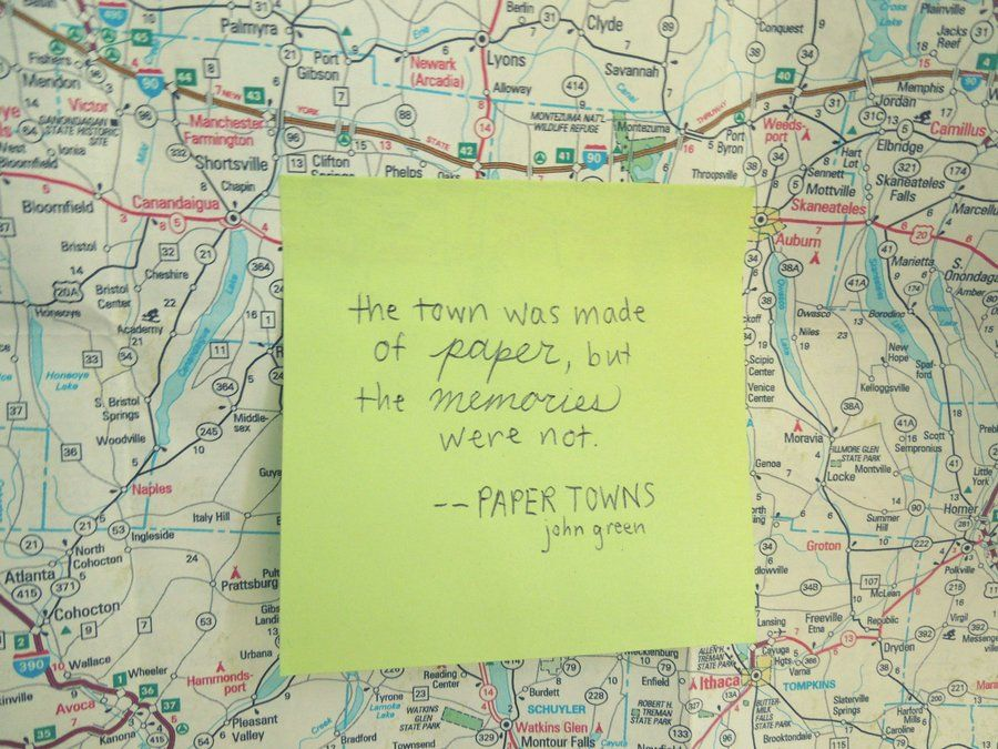 Theme Of Looking For Alaska: Paper Towns Quotes Wallpaper - Google Search