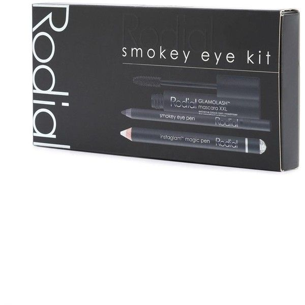 Rodial Smokey Eye Kit ($45) ❤ liked on Polyvore featuring beauty products, makeup, eye makeup, long wear makeup, eye pencil makeup, pen eyeliner and rodial