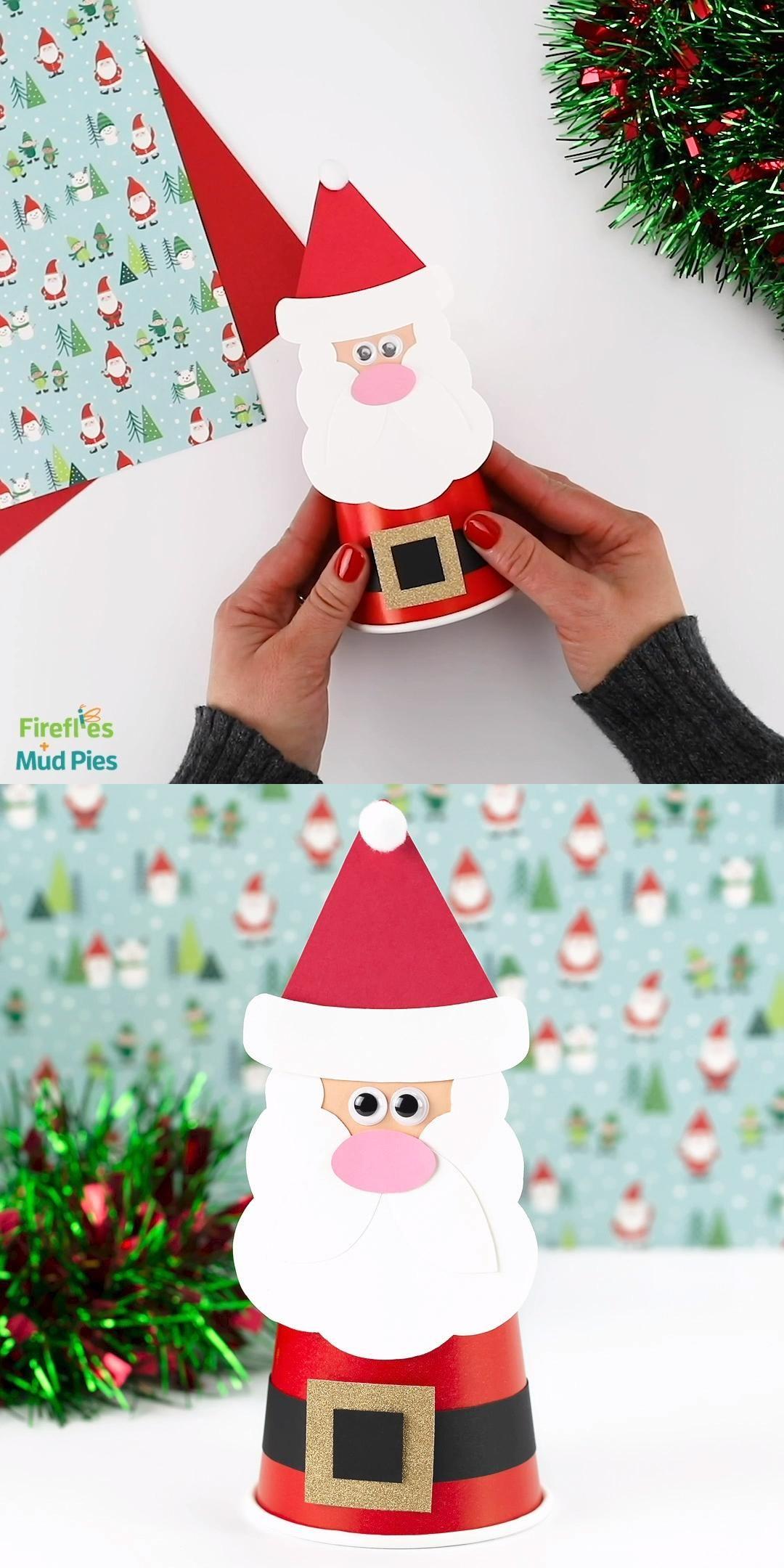 Mud Pie Kids Glitter All the Way Santa Presents Christmas Dress