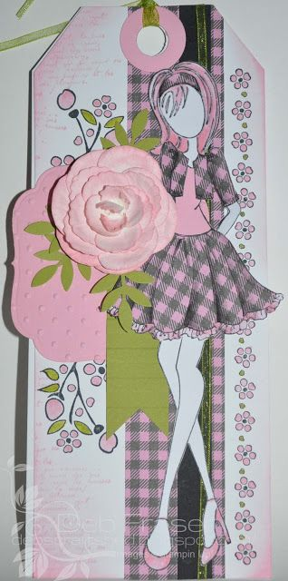 Debs Craft Shed: Julie Nutting Doll Stamp