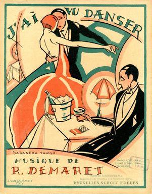 J'ai vu Danser, 1924 (ill.: J. Van Caulaert); ref. 3405