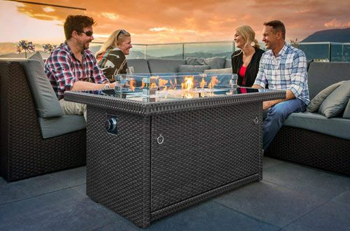 Top 10 Best Indoor/Outdoor Propane Fire Pits Reviews In ... on Outland Living 401 id=88892