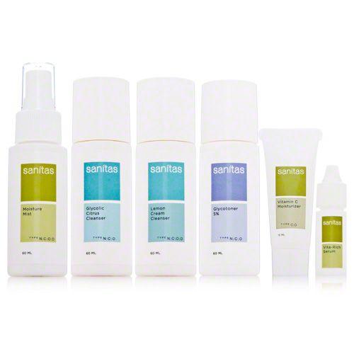 Sanitas Skincare Combination System Kit Dermstore Skincare For Oily Skin Skin Care System Normal Skin Care