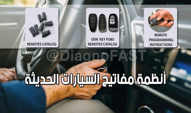 Diagnofast عالم السيارات أنظمة مفاتيح السيارات الحديثة Key Programming And Instruction System Remotes