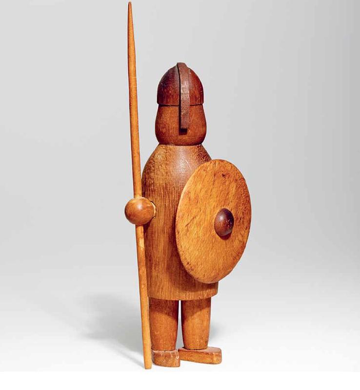 Viking Figure by Arne Tjomsland