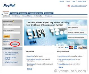 I Created My Paypal Account Here Penjualan