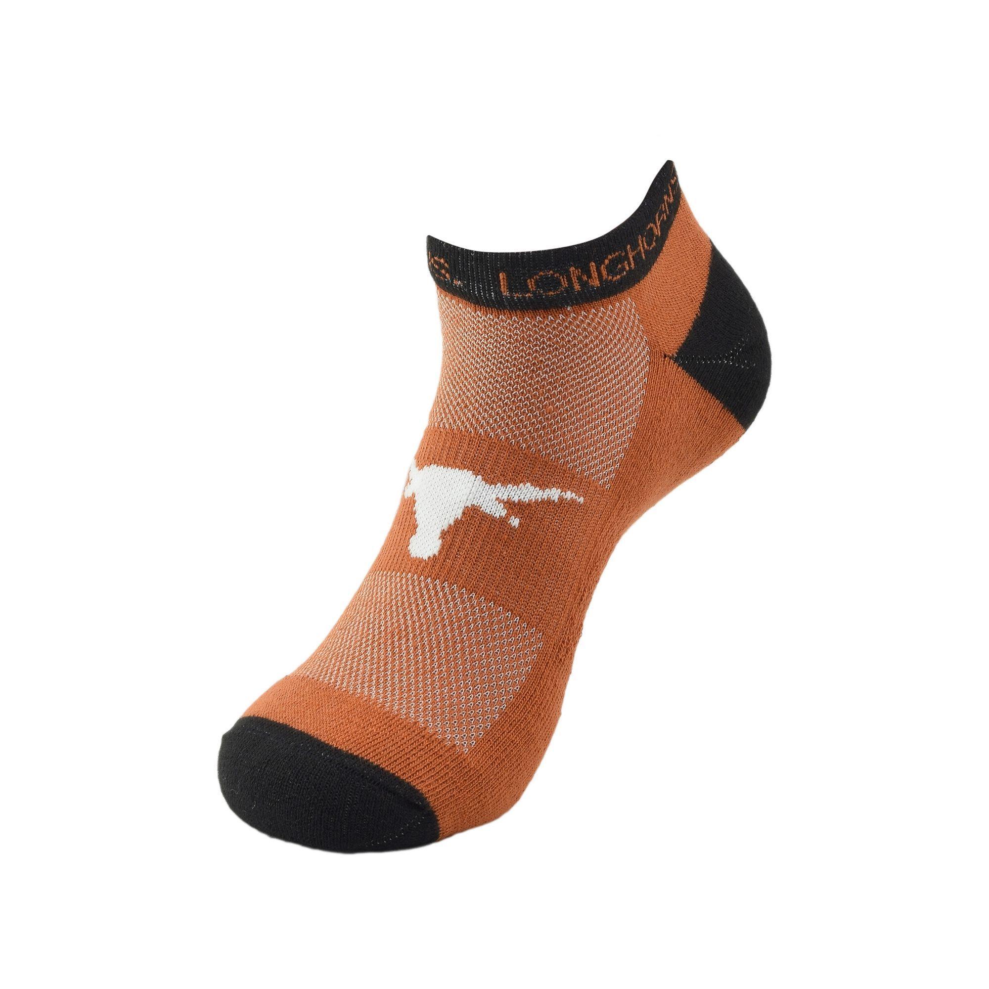 Women's Texas Longhorns Spirit Socks, Size: 9-11, Orange