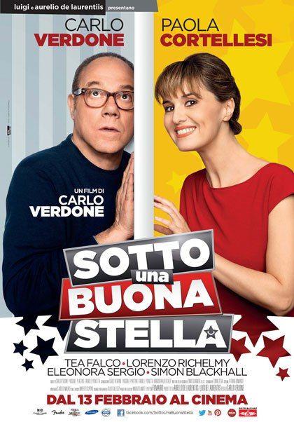 Sotto Una Buona Stella Una Commedia Del 2014 Diretta E Interpretata Da Carlo Verdone Con Paola Cortellesi Nuovi Film Film Film Completi