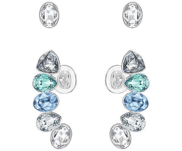 631dcd509 EFFUSION EARLOBE AND STUD PIERCED EARRINGS SET | Swarovski Jewellery ...