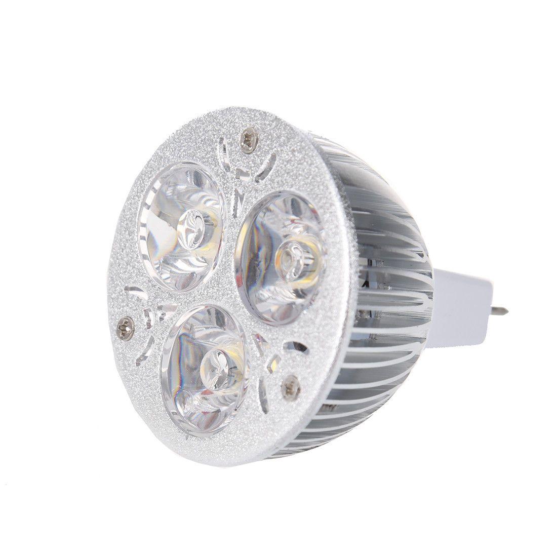 2 19 3w 12 24v Mr16 Warm White 3 Led Light Spotlight Lamp Bulb Only Ebay Home Garden Spotlight Lamp Lamp Bulb Led Lights