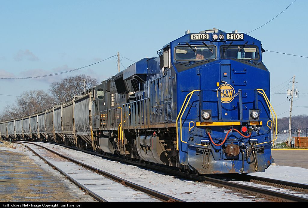 RailPictures.Net Photo: NS 8103 NS GE ES44AC at LeClaire, Iowa by Tom Farence