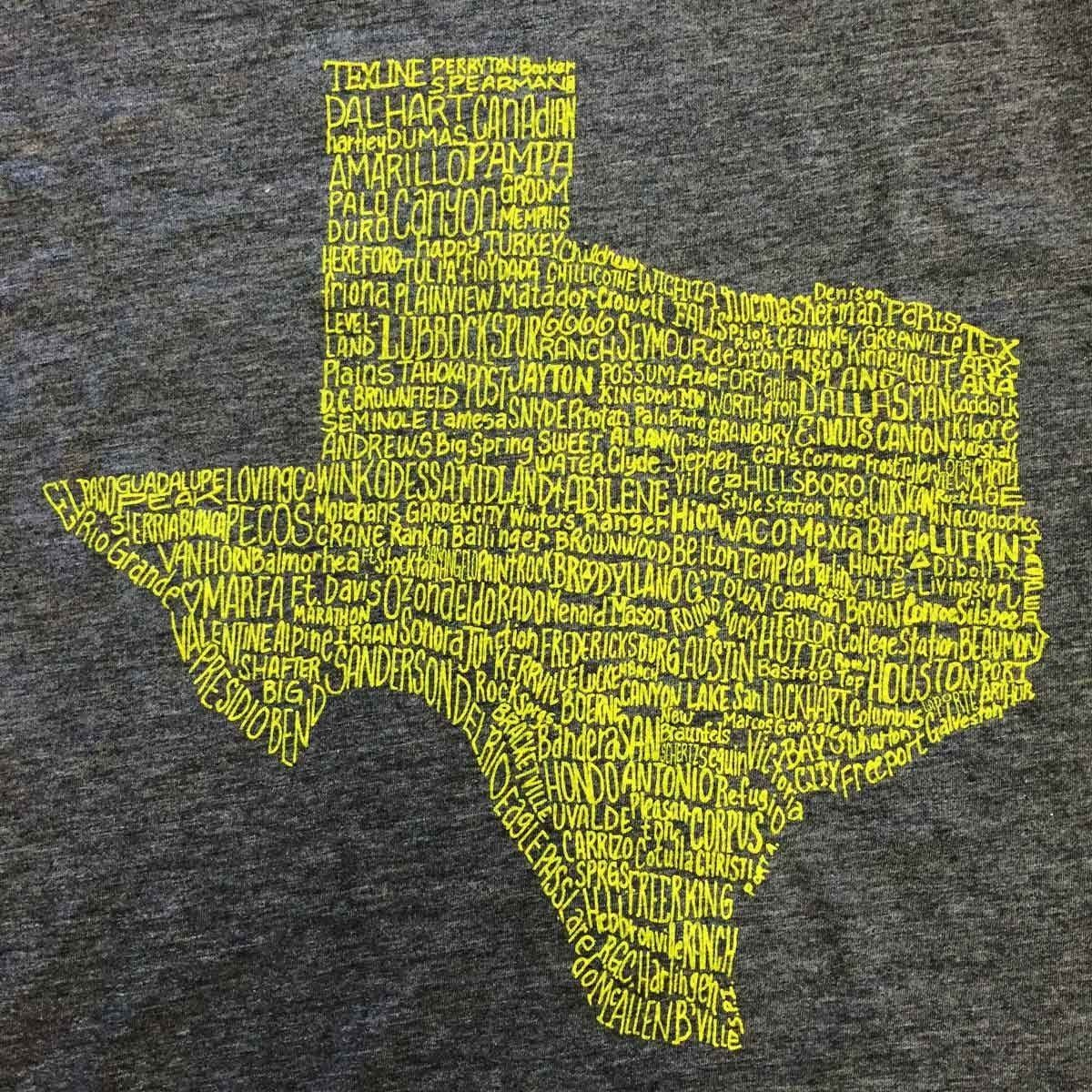 Towns T-shirt - Texas Humor Store - 2