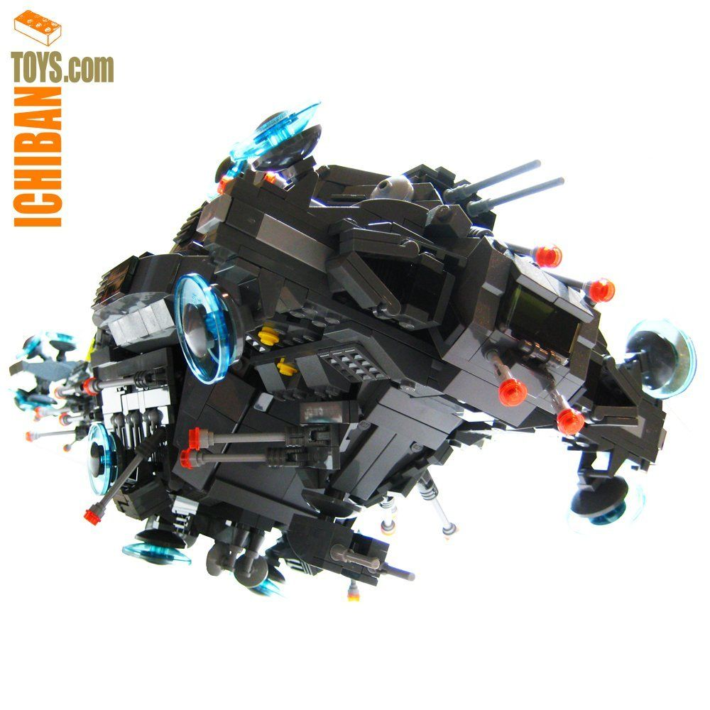Nebuchadnezzar Lego Model of the ship from Matrix by ...