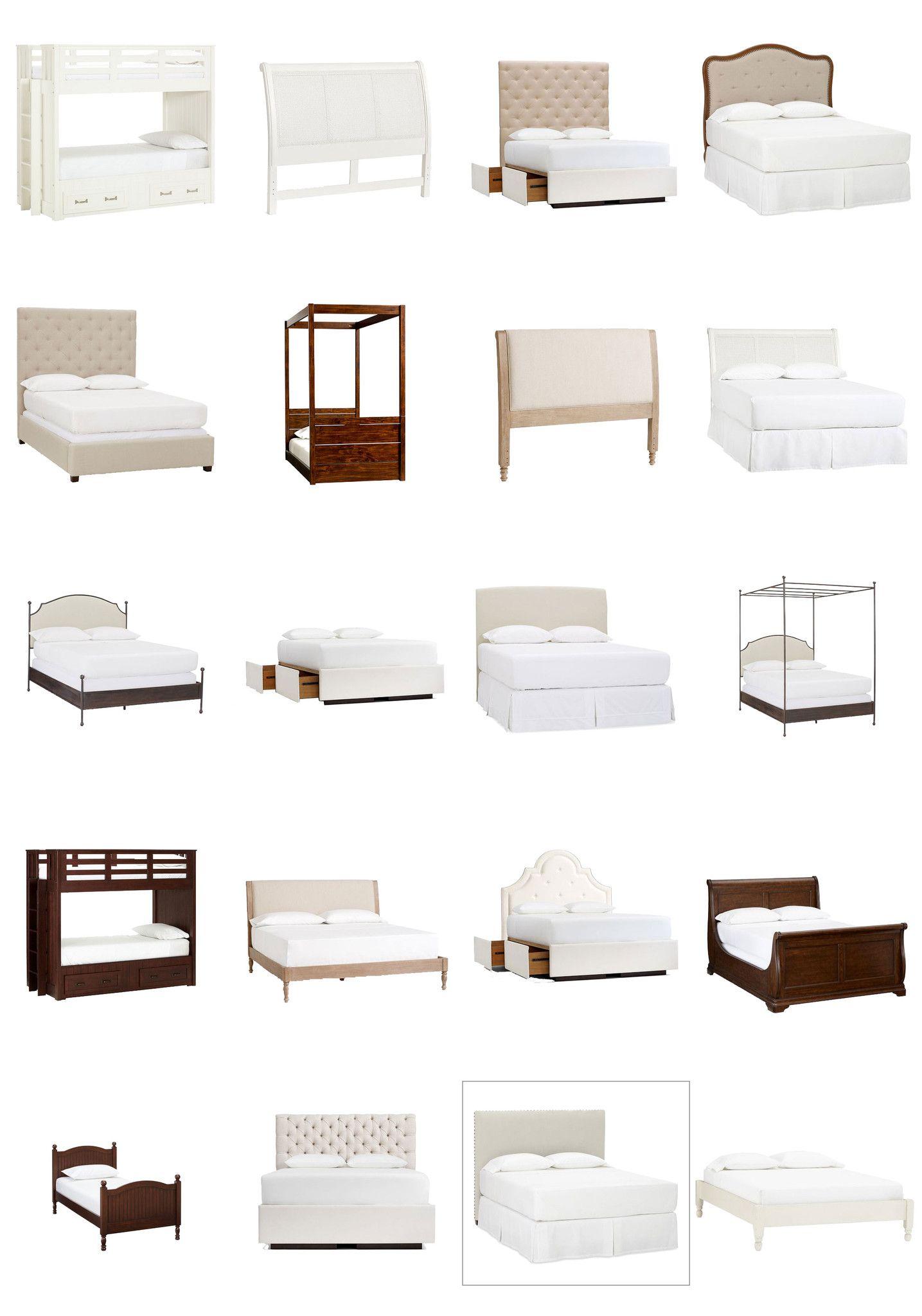 PSD Bed Blocks V1 CAD Design Free CAD Blocks