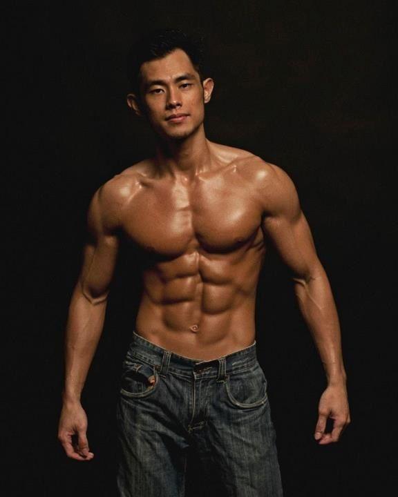 Asiatische Kerl auf Dating-Show