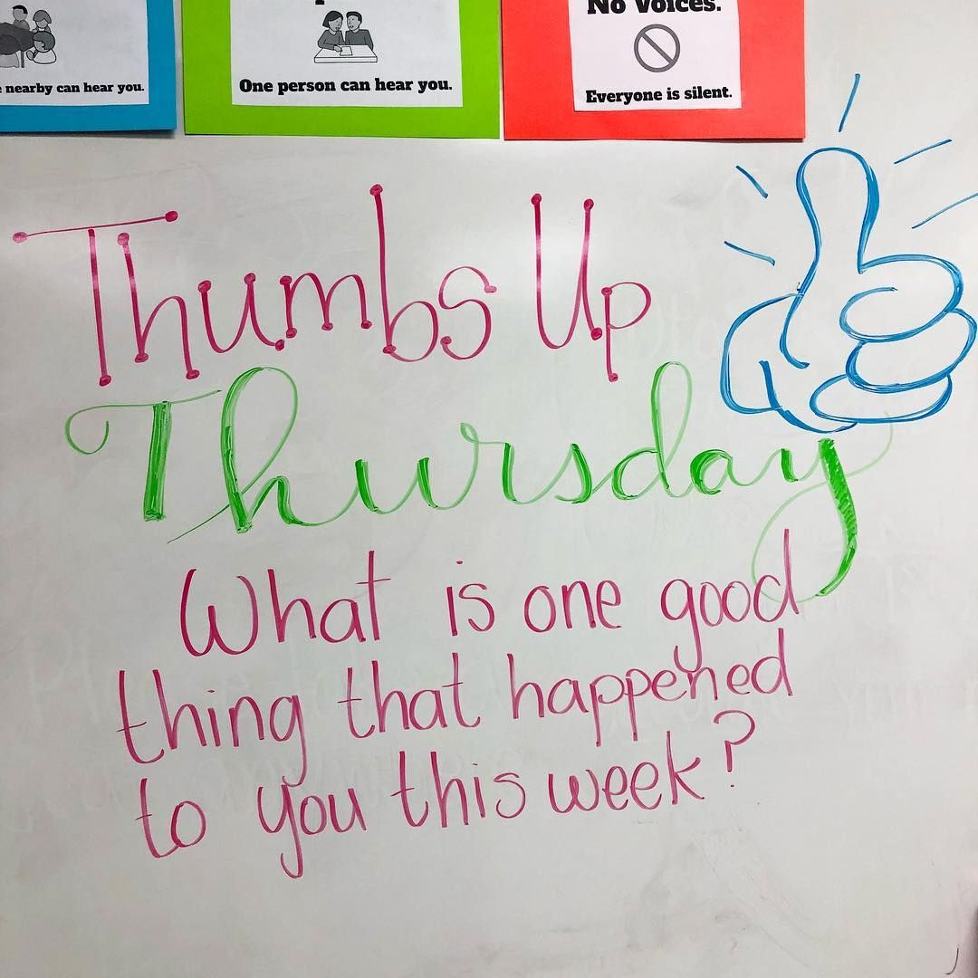 Our first Whiteboard Message inspired by miss5thswhiteboard today! The kids did a great job participating and it was so nice to hear them celebrate GOOD THINGS! We did our response on postits, so I  is part of Whiteboard messages -