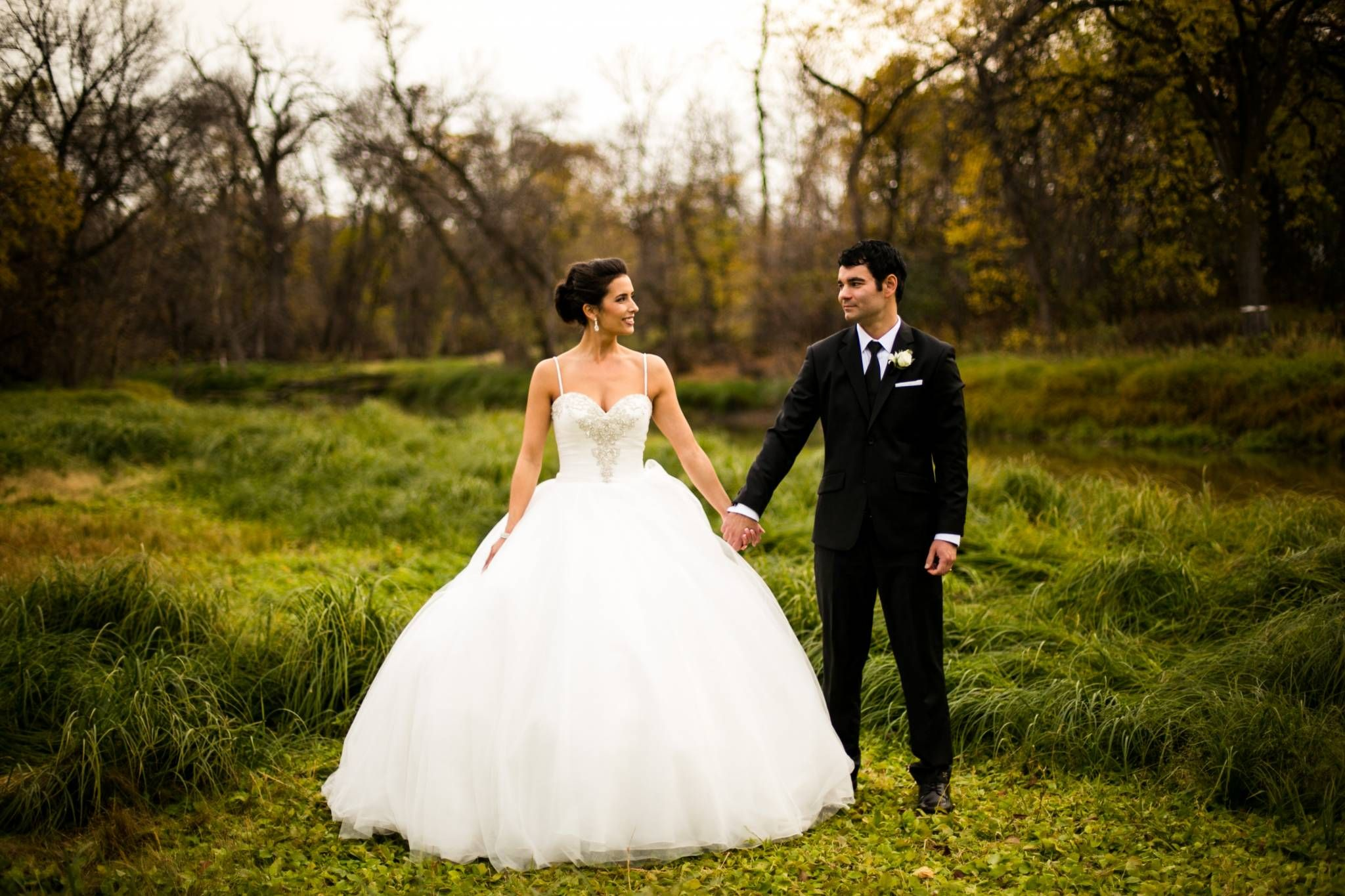 A beautiful wedding at st boniface by moore photography via st