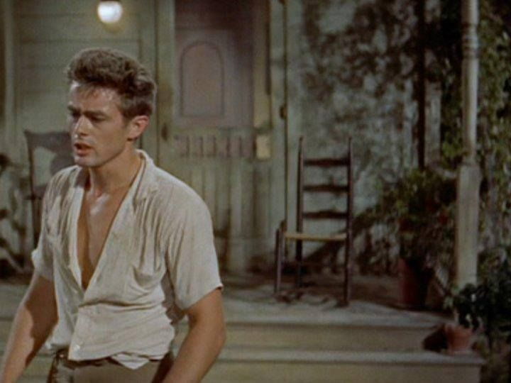 James Dean as Cal Trask in East of Eden.... Ohhhh hi hot.
