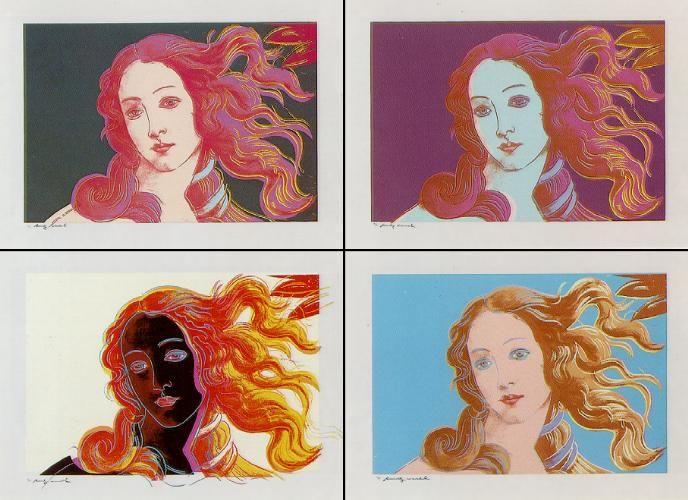 Venere Dopo Botticelli, 1966 by Andy Warhol